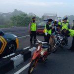 Polisi Jombang Bubarkan Balap Liar, Motor Ditilang, Diambil Setelah Hari Raya