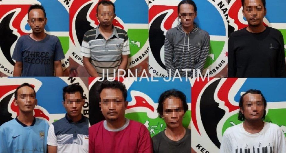 Bisnis Narkoba di Tengah Pandemi Corona, Sembilan Warga Jombang Dibekuk