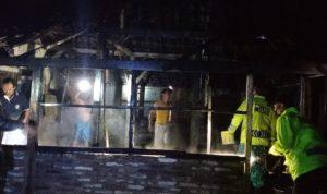 Kebakaran rumah warga Nganjuk