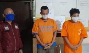 Pencuri Motor di Minimarket Gedangan Sidoarjo Dibekuk Polisi