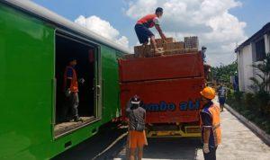 Angkutan barang di kereta api