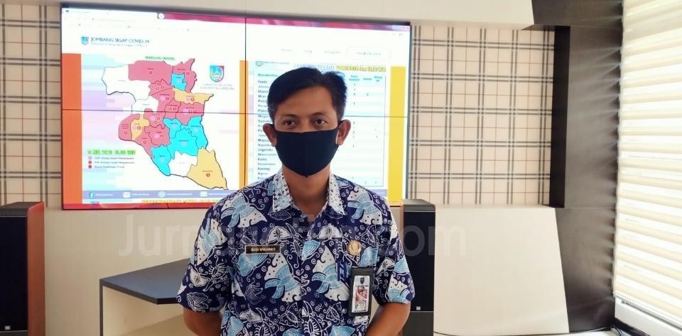 Jubir Gugus Tugas Percepatan Penanganan COVID-19 Kabupaten Jombang Budi Winarno