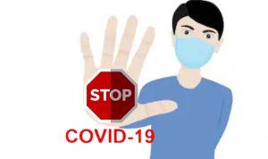 Ilustrasi stop COVID-19