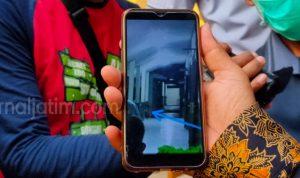 Merinding, Makhluk Aneh Tertangkap Kamera HP di Lokasi Karantina di Jombang
