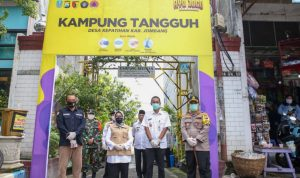 Forkopimda tinjau kampung tangguh di Jombang