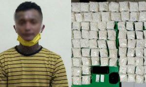Pengedar tertangkap bawa pil dobel L 250 ribu butir