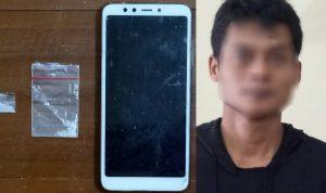 Digeledah Polisi, Pemuda Kota Kediri Simpan Sabu di Rumah