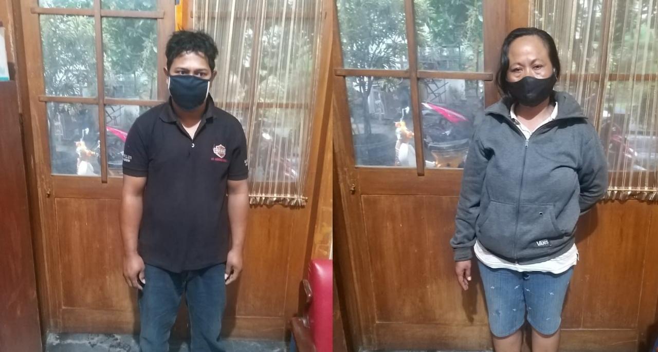 Bekal Rekaman CCTV, Pencuri Motor di Rusunawa Kota Kediri Diringkus