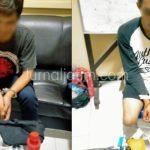 Lagi Asyik Konsumsi Ganja, Dua Pemuda Kediri Digerebek Polisi