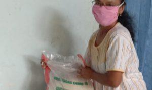 145 Warga Desa Ngepung Nganjuk Terima Bansos Beras 20 Kilogram