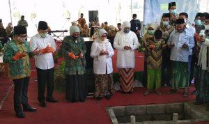 Peletakan Batu Pertama RSNU Jombang Dihadiri Tiga Menteri