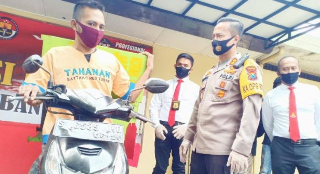 Sukses Curi Uang Kotak Amal Rp3,5 Juta, Pemuda Tuban Ditangkap