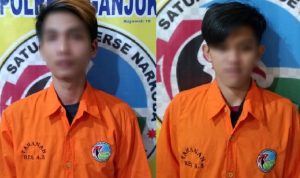 Edarkan Narkoba di Warung Kopi, Dua Pemuda Nganjuk Ditangkap Polisi