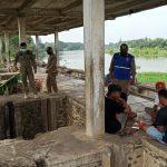 Empat Pemuda Pesta Miras di DAM Brantas Kediri Digaruk Satpol PP