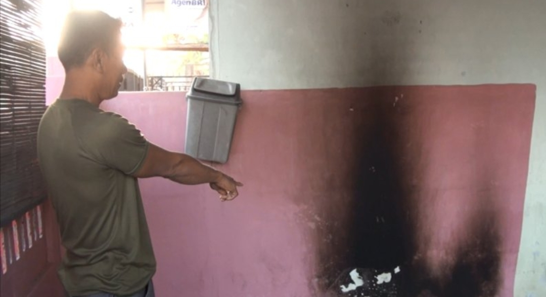 Pulang Ngopi, Rumah Pegawai Lapas Mojokerto Dilempar Bom Molotov