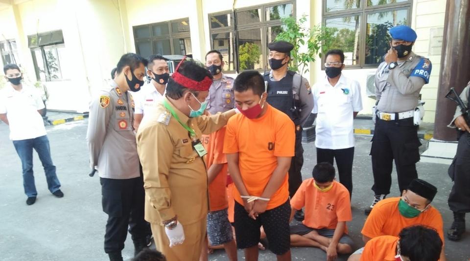 Pengedar Narkoba Dibekuk di Dalam ATM Prambon Nganjuk