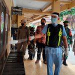 Cegah Corona, Aparat Gabungan Semprot Disinfektan di Mapolres