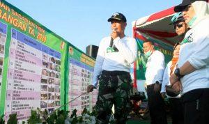 TMMD Imbangan di Dua Desa Di wilayah Bojonegoro Ditutup