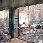 Bengkel Las Dan Mobil Angkutan di Nganjuk Hangus Terbakar