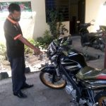 Naik Sepeda Angin, Pensiunan Polisi Jombang Diserempet Motor Vixion