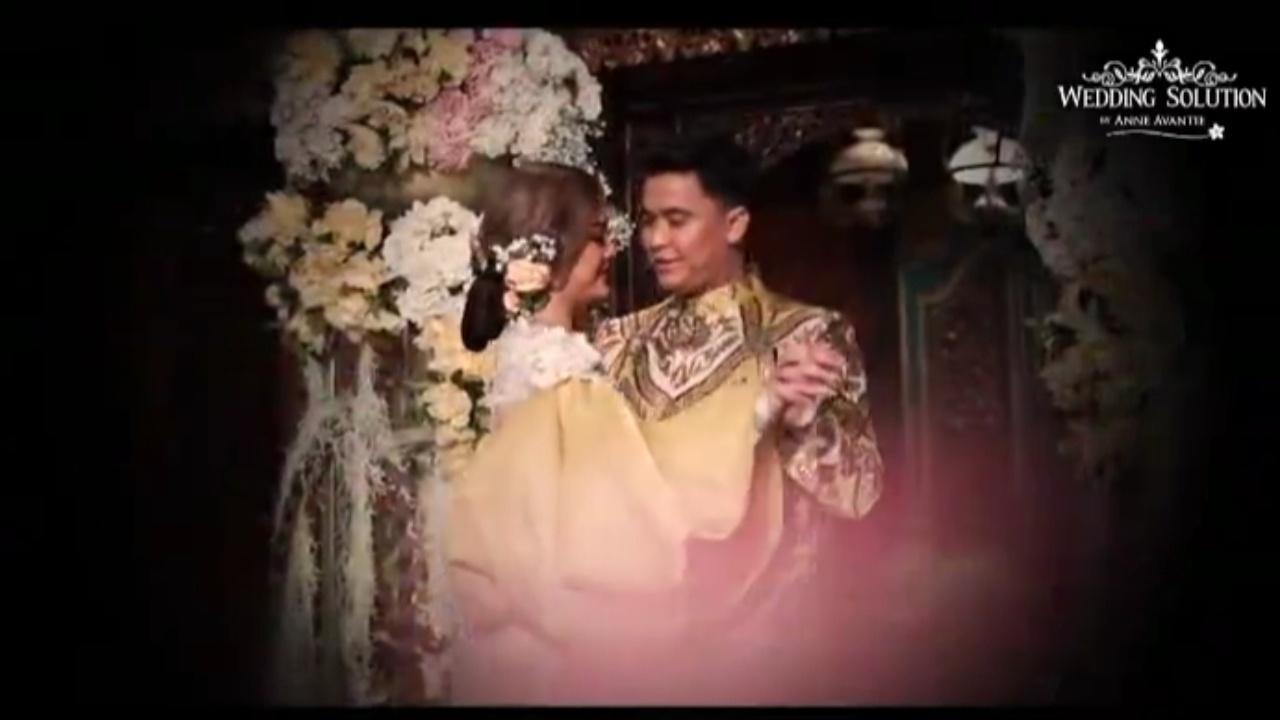 Bikin Baper, Pasangan Artis Amanda-Billy Dansa Pakai Baju Pernikahan