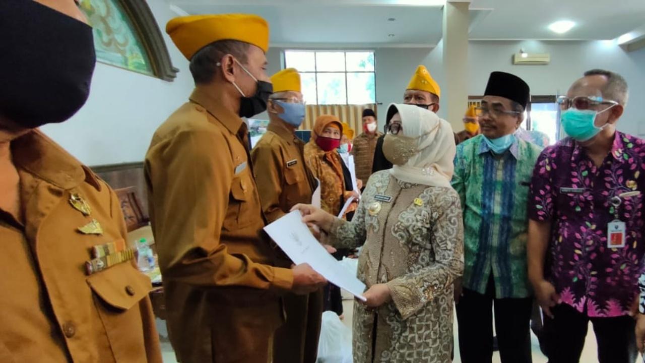 Kabupaten Jombang Beri Bantuan Veteran di Hari Kemerdekaan Indonesia