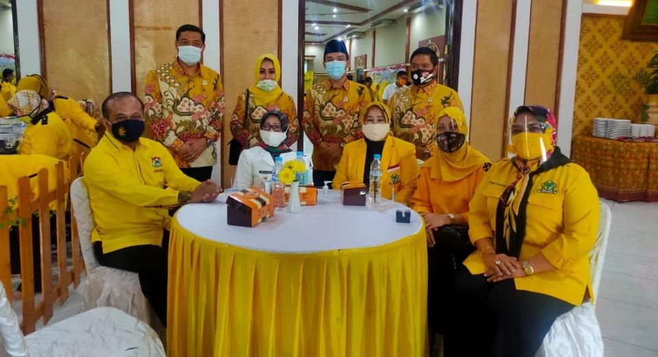 Tjaturina Yuliastuti Calon Tunggal di Musda X Partai Golkar Jombang