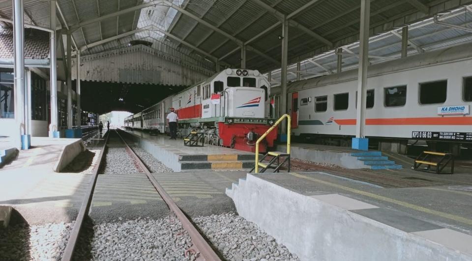 Mulai 14 Agustus, Perjalanan KA Lokal Berhenti di Tiap Stasiun di Jombang