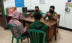 Satpol PP Amankan Pelajar SMP Mabuk Berat di Gor Jayabaya Kediri