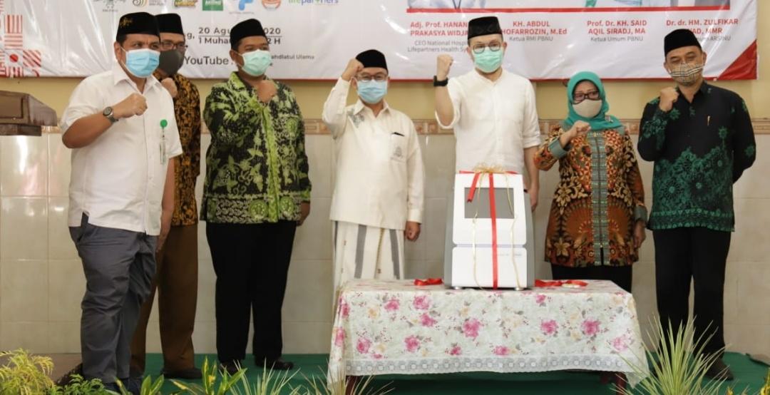 RMI PBNU Galang Donasi Tes Swab Gratis Pesantren di Jombang