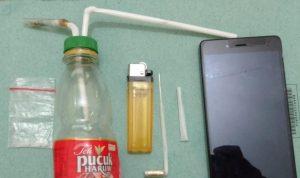 Polisi di Nganjuk Meringkus Dua Pelaku Narkoba Sabu-sabu