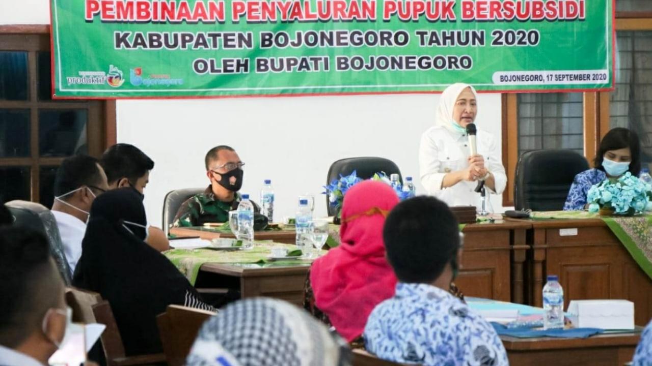 Kodim Bojonegoro Kawal Pendistribusian Pupuk Bersubsidi Tepat Sasaran