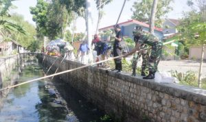 World Cleanup Day, TNI Dan Masyarakat Bojonegoro Bersihkan Sungai