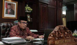 Menag RI Fachrul Razi Positif COVID-19, Kondisi Fisik Baik