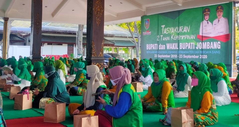 Bupati Jombang Tasyakuran 2 Tahun Kepemimpinan Istigasah Salawatan