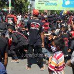 5 Bulan Tak Pentas, Pekerja Seni Jaranan Demo Pendopo Bupati Jombang
