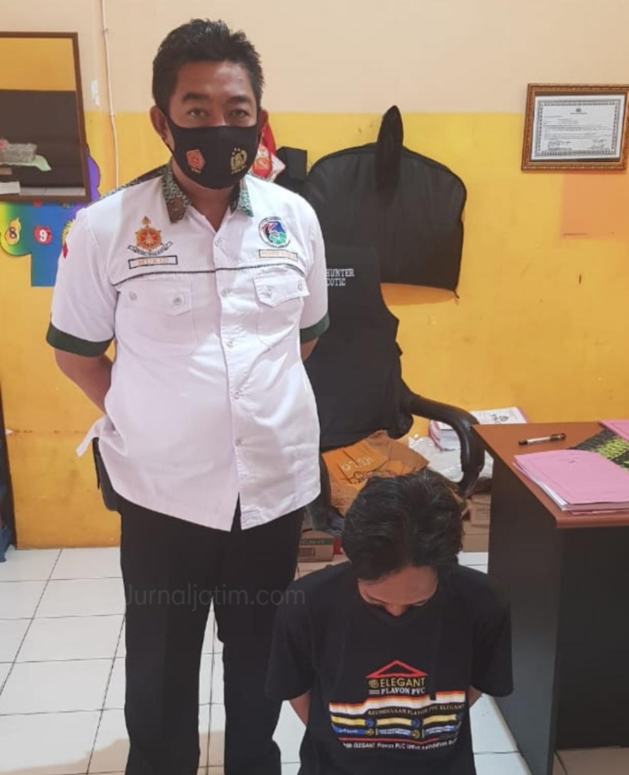 Pekerjaan Terimbas Corona, Residivis Jebolan Lapas Jombang Jual Sabu
