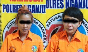 Polisi Gerebek Cafe di Guyangan Nganjuk, 4 Pelaku Narkoba Ditangkap