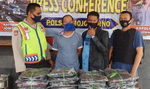Sales Penipu Pengusaha Tas Ditangkap di Jombang, 2 Pelaku Buron