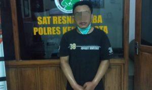 Polisi Tangkap Pemuda Singonegaran Kediri Ketika Mengonsumsi Sabu