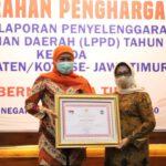 LPPD Tahun 2018, Kabupaten Jombang Peringkat Lima se Jatim