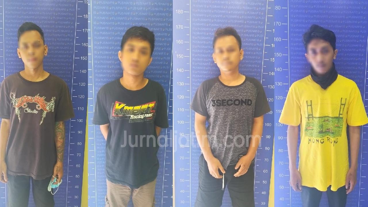 Tiga Budak Sabu Dan 1 Pengedar Pil Koplo di Kediri Diringkus Polisi