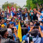 Didemo Mahasiswa, Ketua DPRD Jombang Sepakat Tolak UU Omnibus Law