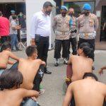 Ikut Demo Tolak UU Omnibus Law, 43 Remaja Jombang Diamankan Polisi