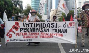 Massa Getol Jawa Timur Kembali Turun Jalan Tolak UU Cipta Kerja
