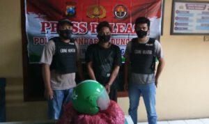Polisi Amankan Pencuri 1 Sak Benih Bawang Merah di Jombang