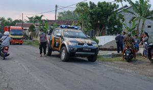 Terpeleset, Dua Motor Tabrakan di Jombang, Pengendara Luka Parah