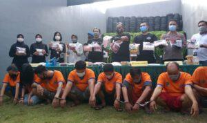 Bongkar Narkoba Jaringan Jombang, Polisi Sita Sabu 8,8 Kilogram