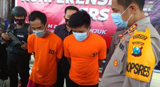 Dua Residivis Curanmor di Nganjuk Dilumpuhkan Polisi