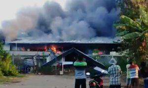 Kebakaran Gudang RPA di Jombang Diduga Akibat Korsleting Listrik